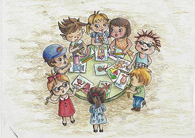 Concorso per bambini, Arona 2020